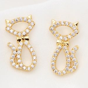 Kate Spade ♠️ NWT Gold Jazz Cats Earrings